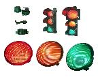 CVE/LED Series  Traffic signal heads in polycarbonate with Led optics